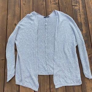 Brandy Melville white / grey cardigan